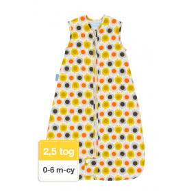Śpiworek Grobag Orla Kiely Apple- Travel 0-6M- 2,5 tog