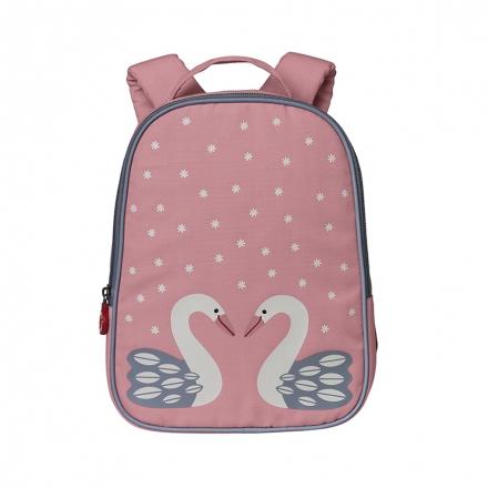 Różowy plecak łabędź Herta
