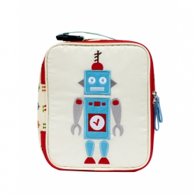 Lunchbox Pink Lining Robbie The Robot