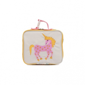 Lunchbox Pink Lining Damsels & Unicorns
