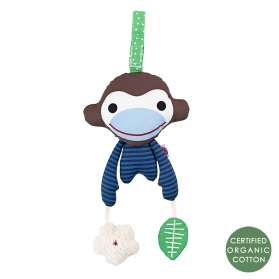 Zabawka niebieska małpka Asger