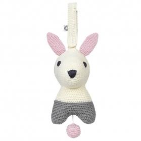 Muzyczna zabawka Hella biały królik