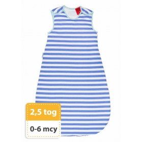 Śpiworek Grobag Seaside Stripe 0-6m - 2,5 tog