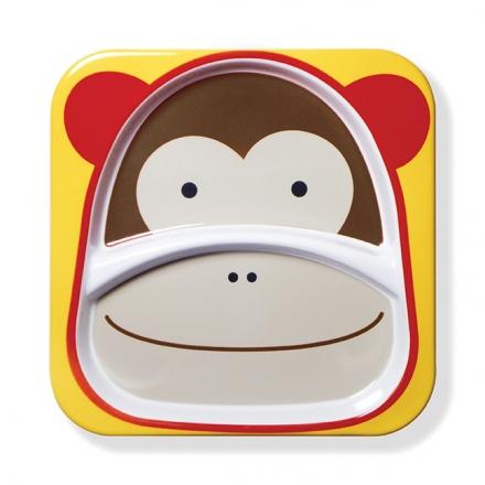Talerz Zoo Małpa
