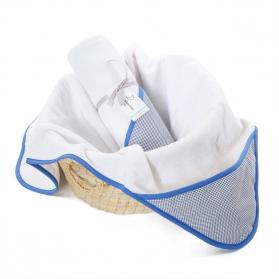 Ręcznik z kapturem Navy Blue