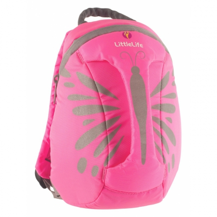 Backpack reflective LittleLife ActiveGrip Butterfly 1-3 years