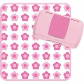 Przewijak Podróżnika flower pink