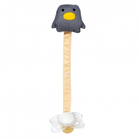 Zawieszka do smoczka Pingwin