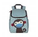Niebieski plecak małpka Kalle