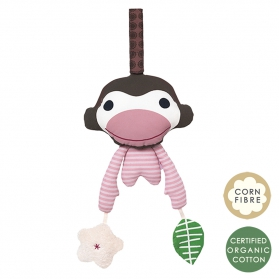 Zabawka różowa małpka Asger