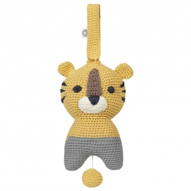 Muzyczna zabawka Hella żółty tygrys