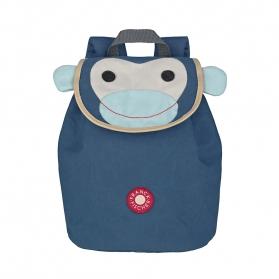 Niebieski plecak małpka Filur