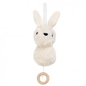 Muzyczna zabawka biały królik Aura