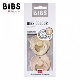 BIBS - Zestaw smoczków uspokajających S 2 pack BLUSH & VANILLA