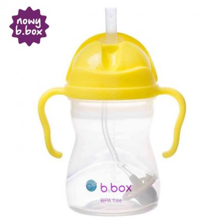 B BOX- Bidon ze słomką 240ml arbuzowy