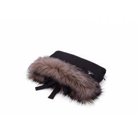 COTTONMOOSE - Mufka Cottonmuff czarna