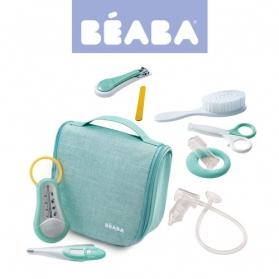 Beaba Kosmetyczka z 9 akcesoriami do pielęgnacji niemowląt grey