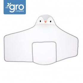 Gro Company Otulacz-ręcznik Groswaddledry Poppy the Penguin 0-6 miesięcy
