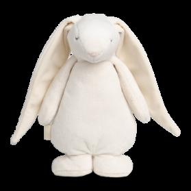 Moonie szumiący królik przytulanka z lampką szaro różowy
