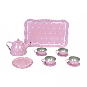 Jabadabado Różowy serwis do herbaty