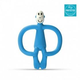 Matchstick Monkey gryzak ze szczoteczką azure blue