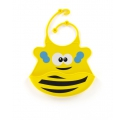 Śliniak silikonowy (żółta pszczoła)