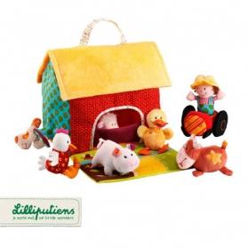 Lilliputiens Domek farma ze zwierzątkami
