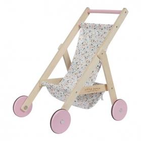 Little Dutch Drewniany wózek dla lalek