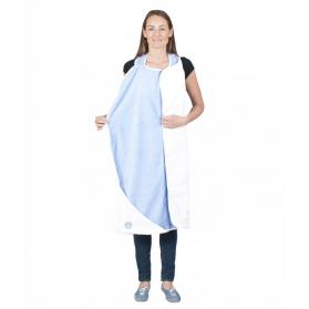 Ręcznik do kąpieli dla dzieci (błękitny)