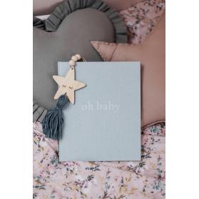 Pamiętnik dziecka Oh Baby classic grey