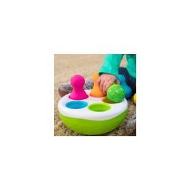 Fat Brain Toys Sorter kolorowe wańki wstańki