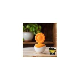 Fat Brain Toys Gryzak dimple wańka wstańka pomarańczowy