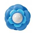 Mini lampka nocna kwiatek (niebieska)