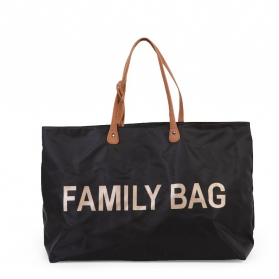 Childhome Torba family bag czarna