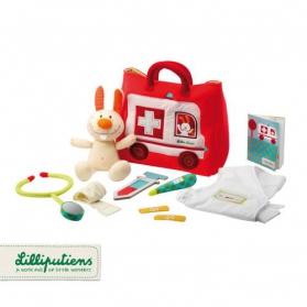 Lilliputiens Zestaw małego lekarza z torbą