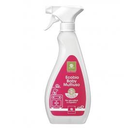Quaranta Settimane - Ecobio Dezynfekujący Spray do Zabawek i Mebli, 500 ml