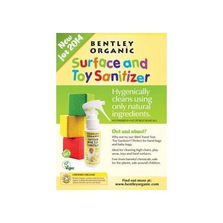 Bentley Organic Spray dezynfekujący do mycia zabawek mini 50ml