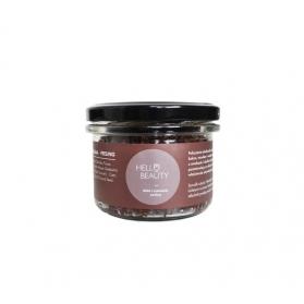 Lullalove Peeling solny - czekolada z miodem
