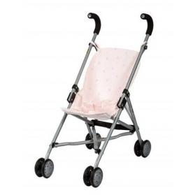 Barrutoys Wózek spacerówka różowy w gwiazdki