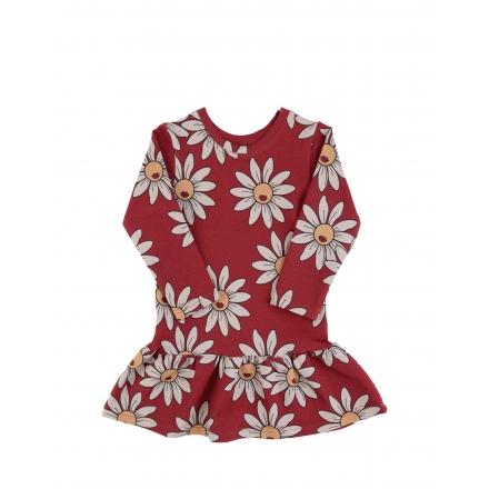 Dear Sophie Sukienka czerwone kwiatki 86-92