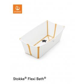 Stokke® Wanienka Flexi Bath® white yellow