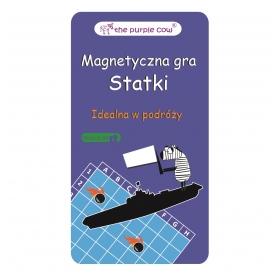 The Purple Cow gra magnetyczna statki