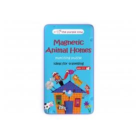 The Purple Cow gra magnetyczna zwierzęta i ich domy