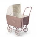 By Astrup ratanowy wózek dla lalek Rose