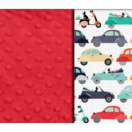 Kocyk Średniaka - La Mobile - Red